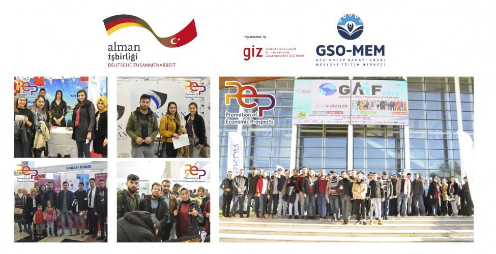 GSO-MEM KURSİYERLERİ GAİF-2019 FUARINA KATILDI (1)