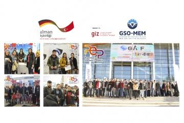 GSO-MEM KURSİYERLERİ GAİF-2019 FUARINA KATILDI