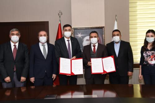 توقيع بروتوكول التعاون بين هيئة التدريبيه في غازي عنتاب ومديرية إدارة الهجرة الإقليمية