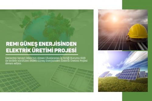مشروع انتاج الطاقة الكهربائية من الطاقة الشمسية