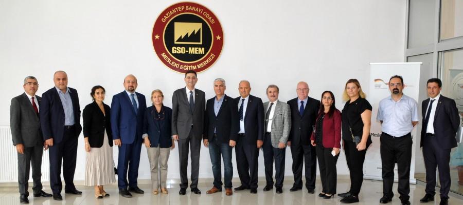 MAKİNE MÜHENDİSLERİ ODASI'NDAN GSO-MEM'E ZİYARET